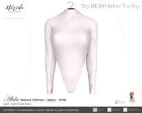 ~Nerido~ Alida Bodysuit-White