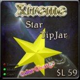 Xtreme 3D Star w/ Color Change - Tip Jar -