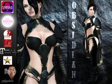* Obsidian *  Fantasy outfit
