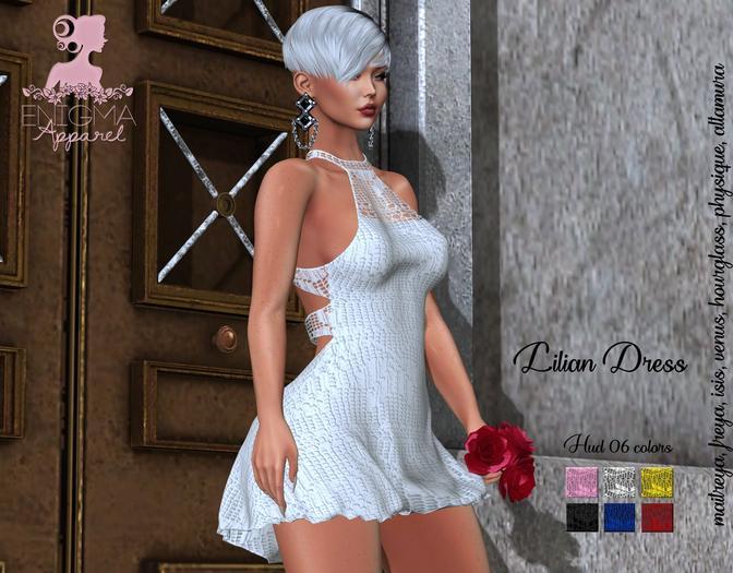 [EN] Lilian Dress - Hud 6 Colors