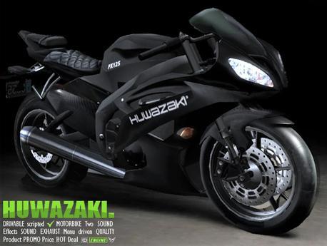 [CA] PROMO HUWAZAKI MOTORCYCLE