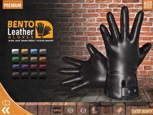 [CA] LEATHER GLOVES GENTS BENTO