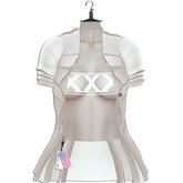 "Elegance Boutique - Jacket & Bra - Cream - "" Feral"" -"