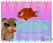 Maneki Neko - Fish Friend Toy - Orange