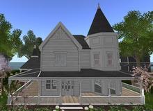 D-VINE DESIGNS BELLISSERIA VICTORIAN VERNE ADD ON-e porch round pergola rails 29li