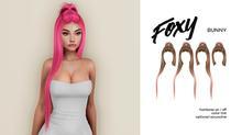 Foxy - Bunny Hair (Grayscale)