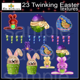 23 twinkling easter textures