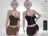 PROMO - Vaxer : Ula Outfit - Maitreya Lara, Slink Hourglass and Legacy. 10 Textures HUD. Mix & Match