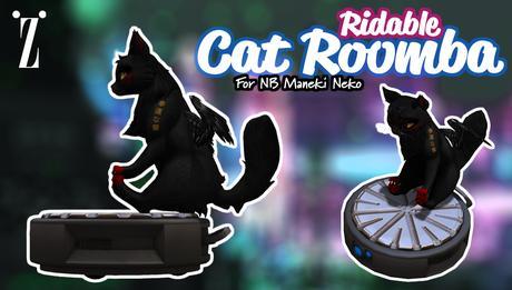 [inZoxi] - Maneki Neko - Cat Roomba