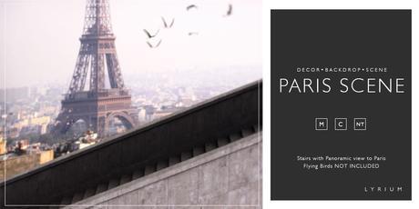 Lyrium Paris Scene Backdrop