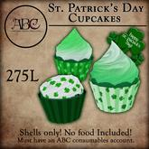 ABC - St. Patricks 2020 Cupcakes - SHELLS