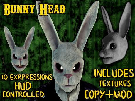 [Angry Store] Bunny Head + Mod kit