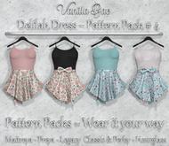 *Vanilla Bae* Delilah Dress - Pattern Pack #4 - Strip Me Collection - Maitreya / Freya / Legacy & Legacy Perky / HG