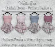 *Vanilla Bae* Delilah Dress - Pattern Pack #2 - Strip Me Collection - Maitreya / Freya / Legacy & Legacy Perky / HG