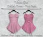 *Vanilla Bae* Delilah Dress - Pink 2 Pack - Strip Me Collection - Maitreya / Freya / Legacy & Legacy Perky / HG