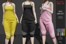 [RED GIRL] Swag Jumpsuit {FATPACK} - WEAR ME