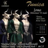 JOMO FURRY TUNICA MINOTAUR  MALE V-1 BOX