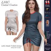 DEMO - LMC Mesh - T-Shirt Dress - DEMO