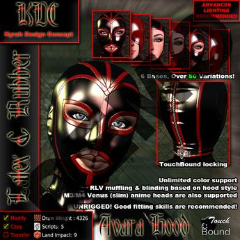KDC Avara Latex Hood DEMO