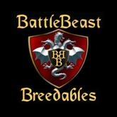 "BattleBeast Breedables Dragon Egg ""Steampunk Rust"""