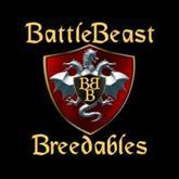 """BattleBeast Breedables Dragon Egg """"Steampunk Brass"""""""
