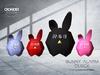 Crowded Room - Bunny Alarm Clock