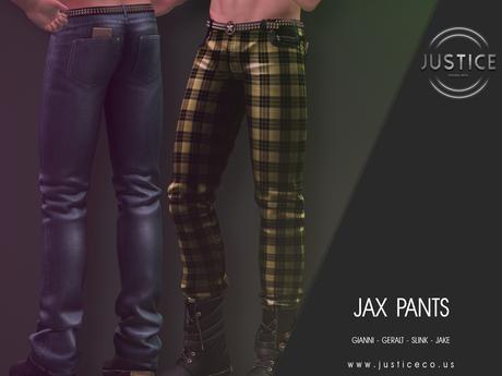 [JUSTICE] JAX PANTS - FATPACK