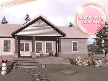 {moss&mink} Madison Home - Snow Roof Addon