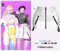 MIWAS / Lisa Zipper skirt #White