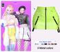 MIWAS / Lisa Zipper skirt #NeonGreen