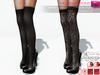 Full Perm Stilettos With Over Knee Tights For Maitreya, Slink Hourglass, Physique Belleza Freya Isis Ocacin