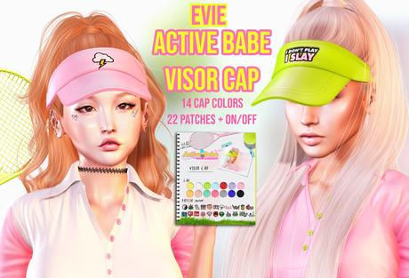 EVIE - ActiveBabe - Visor Cap