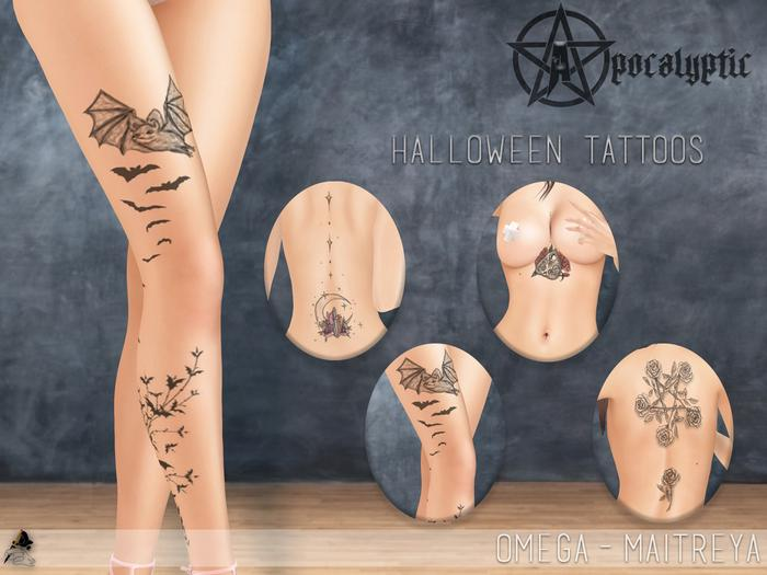 "Bat tattoo - Happy Halloween ""Add me, please"""