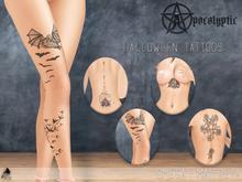 "Crystals tattoo - Happy Halloween ""Add me, please"""