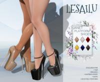 LESAILU - Janet platform shoes