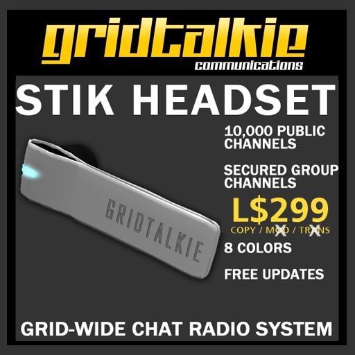 GridTalkie STIK Wearable Mesh Radio