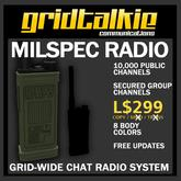 GridTalkie MILSPEC Wearable Radio