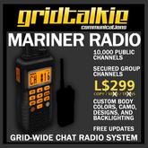 GridTalkie Mariner Wearable Radio