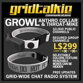 GridTalkie Growl Werable Radio