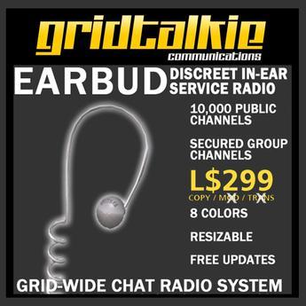 GridTalkie Earbud Wearable Radio