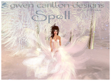 GCD - Spell Gown (White) and Crystal Crown