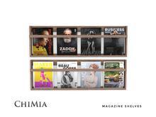 ChiMia:: Magazine Shelves in light & dark