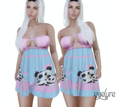 Eyelure Fitmesh Summer Dress   Panda