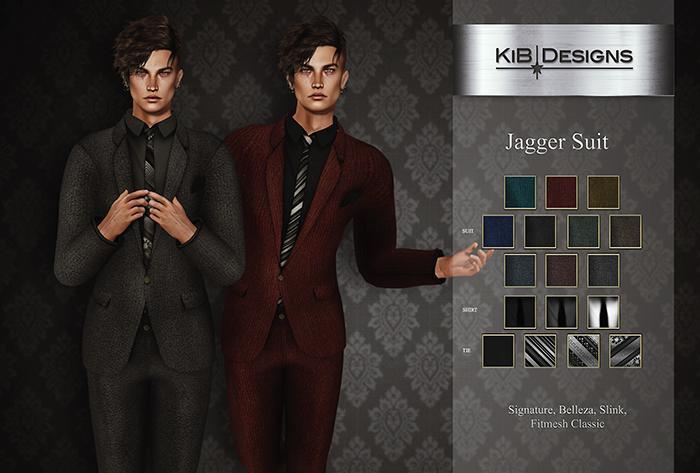 KiB Designs - Jagger Suit FATPACK