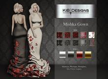 "KiB Designs - Mishka Gown FATPACK  ""Wear"""