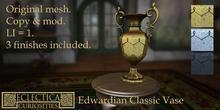 Eclectica Curiosities-Edwardian Classic vase