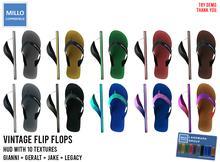 Millo Copperfield - Vintage Flip Flops + HUD (10 Textures)