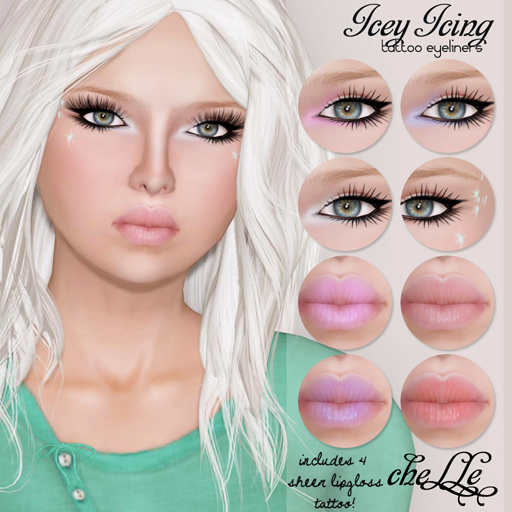 cheLLe (eyeliners) Icey Icing