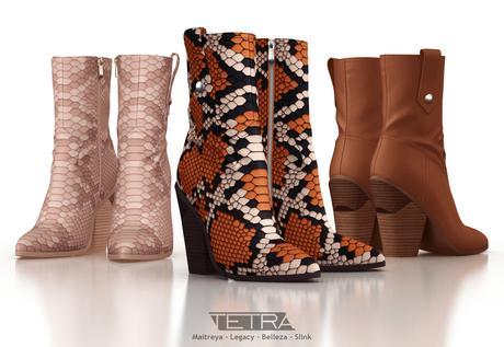 TETRA - Horizon boots (DEMO)