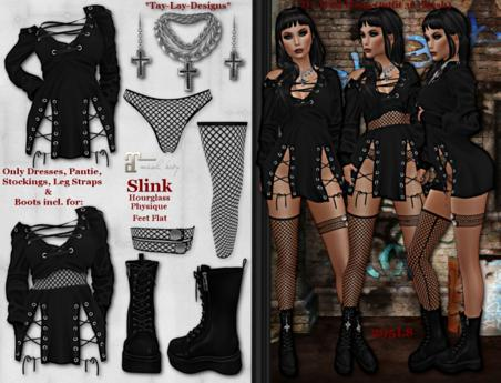 *Tay-Lay-Designs* Wild Thing-Outfit 36 (Mesh)